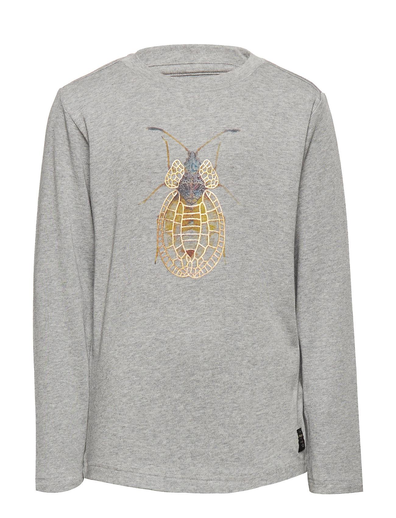 Mini A Ture Agner T-shirt, K - GREY MELANGE