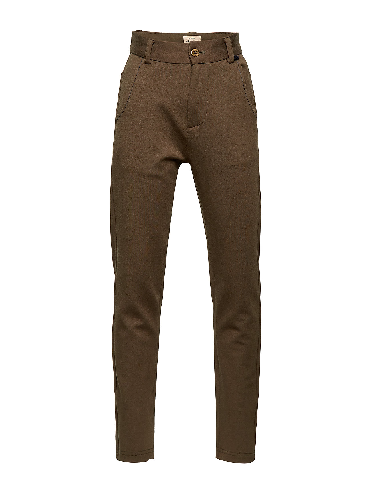 Mini A Ture Sigvart Pants, K - BURNT OLIVE
