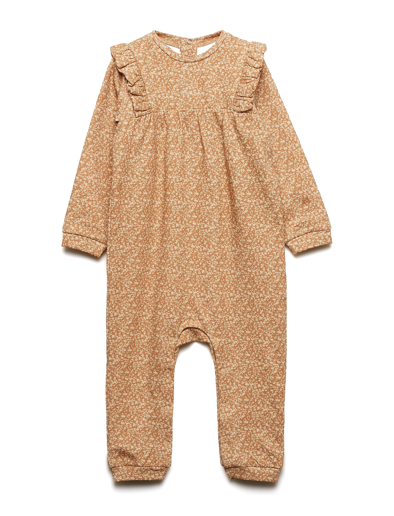 Mini A Ture Cibell Romper, B - APPLE CINNAMON