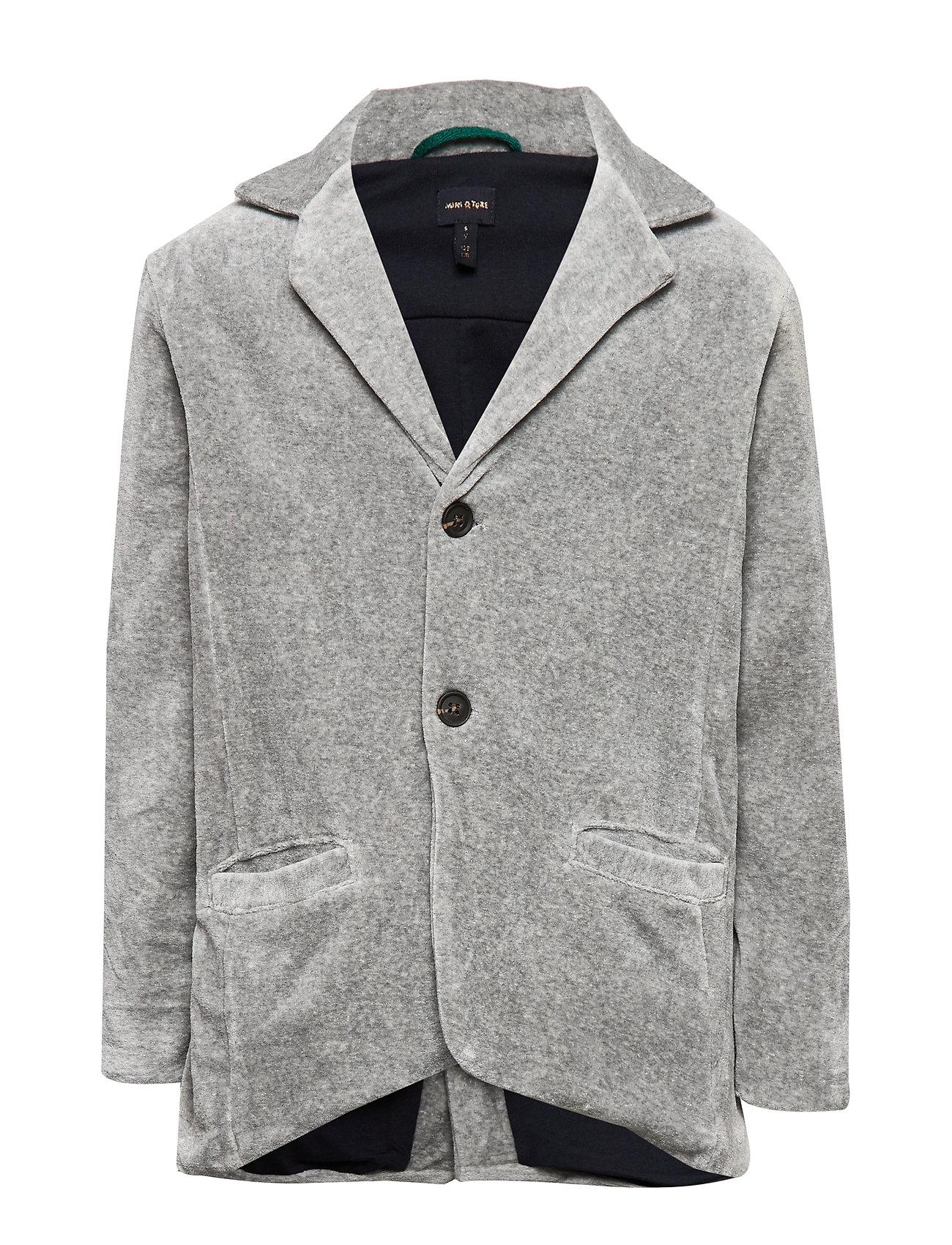 Mini A Ture Lioyd Jacket, K - LIGHT GREY MELANGE