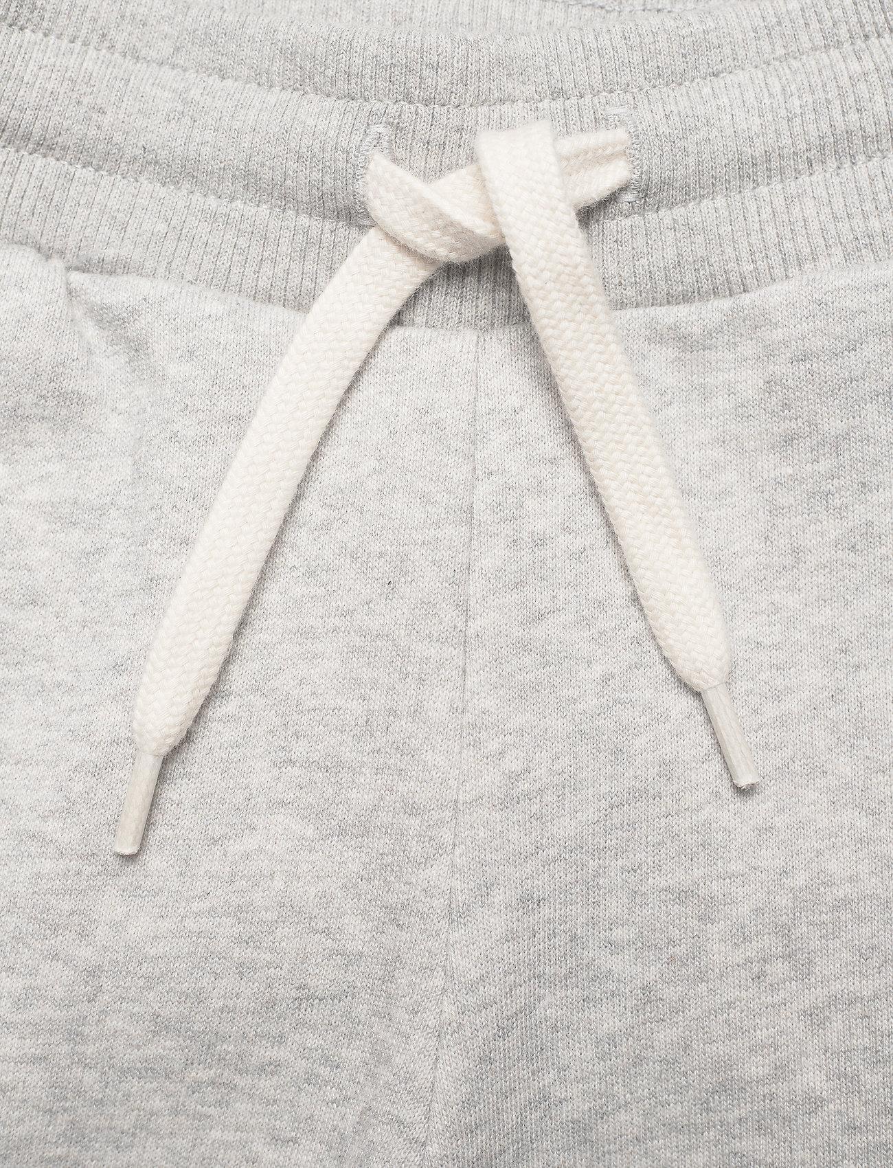 Mini A Ture - Even pants, K - sweatpants - light grey melange - 3