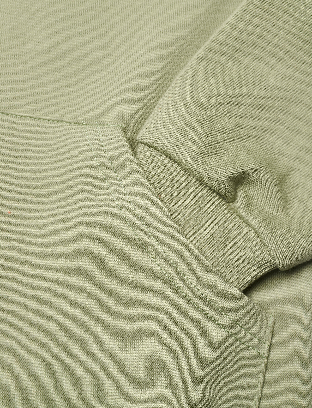 Mini A Ture - Alfi Zip Hoodie, K - sweatshirts & hættetrøjer - oil green - 3