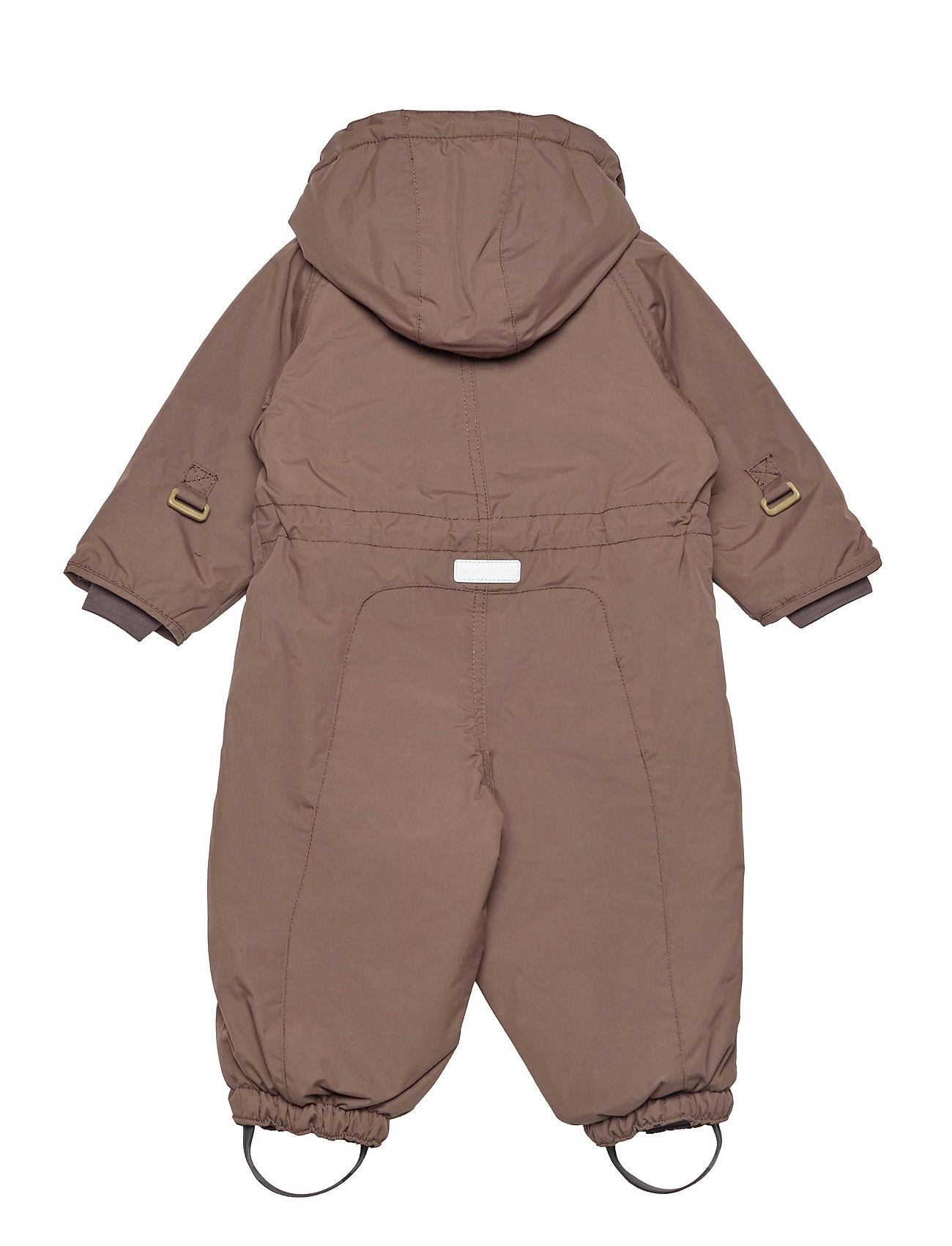 Mini A Ture - Wisti Suit, M - snowsuit - dark choco - 1