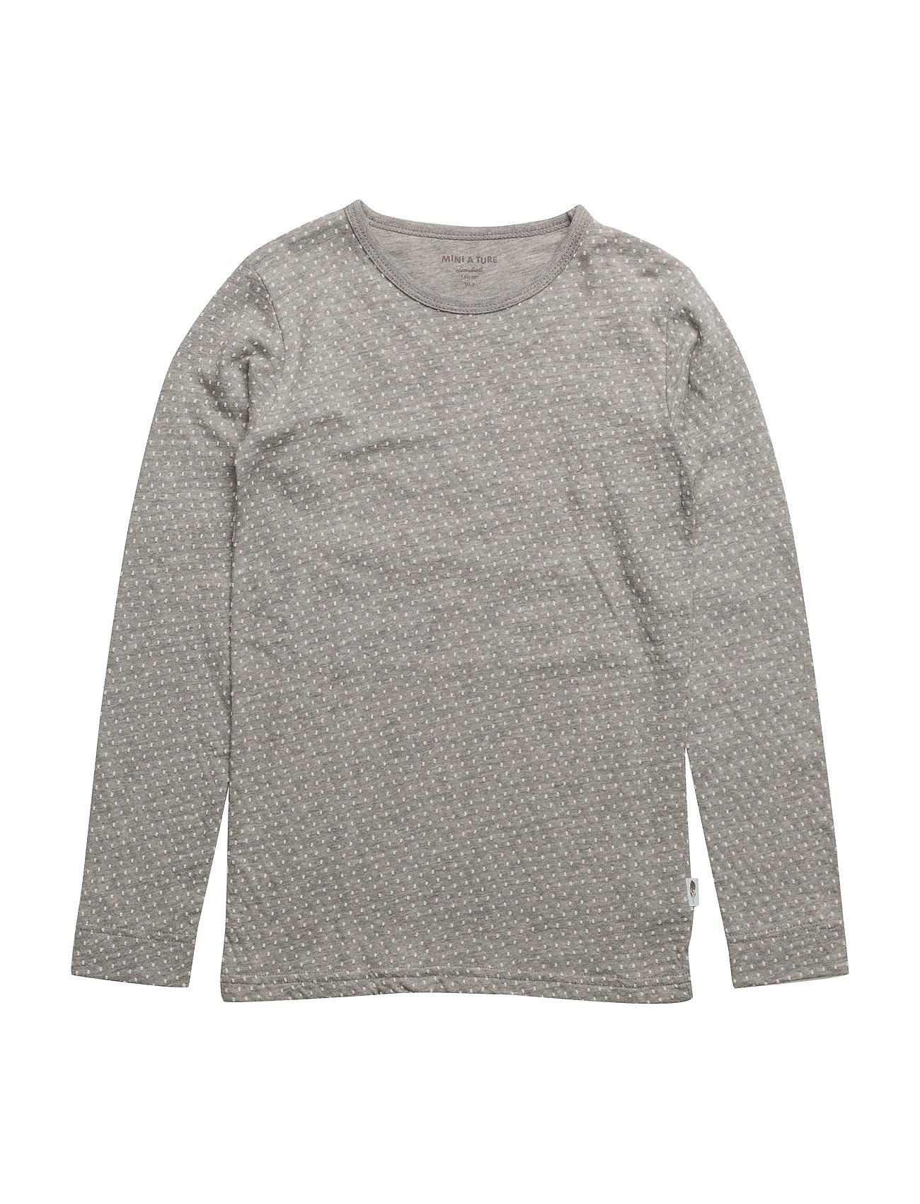 Mini A Ture Eddy T-shirt, MK - LIGHT GREY MELANGE
