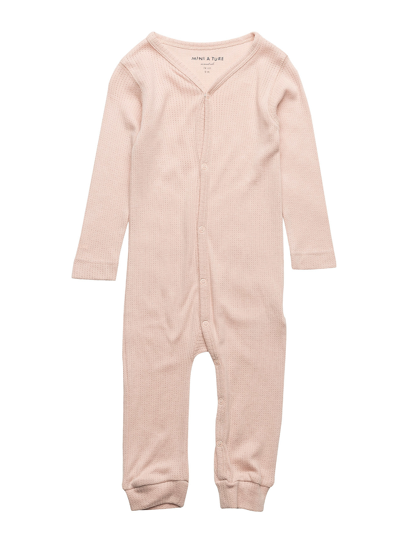 Mini A Ture Mattie Romper, B - ROSE DUST