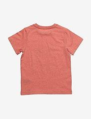 Mini A Ture - Palmtree, MK T-Shirt LS - kortærmede - strawberry ice - 1