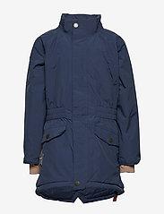 Mini A Ture - Vibse Jacket, K - parkas - peacoat blue - 2