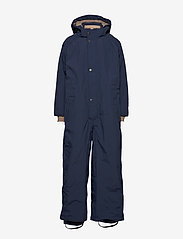 Mini A Ture - Wanni Snowsuit, K - snowsuit - peacoat blue - 1