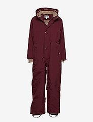 Mini A Ture - Wanni Snowsuit, K - vinterdress - winetasting plum - 0