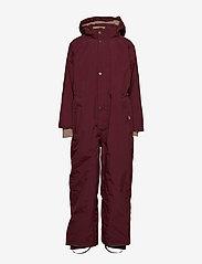 Mini A Ture - Wanni Snowsuit, K - vinterdress - winetasting plum - 1