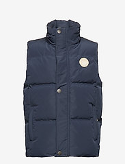 Mini A Ture - Wyatt Vest, K - veste - sky captain blue - 1