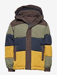 Mini A Ture - Wernon Jacket, K - daunen- und steppjacken - beetle - 0