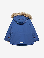 Mini A Ture - Wally Faux Fur Jacket, M - gewatteerde jassen - blue quartz - 1