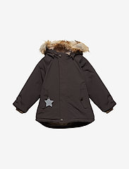 Mini A Ture - Wally Faux Fur Jacket, M - gewatteerde jassen - licorise - 0