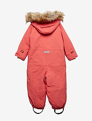 Mini A Ture - Wisti Faux Fur Snowsuit, M - vinterdress - faded rose - 1