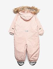 Mini A Ture - Wisti Faux Fur Snowsuit, M - vinterdress - keen rose - 1