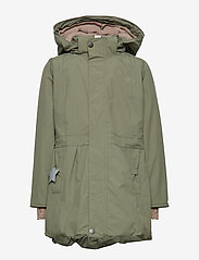 Mini A Ture - Viola Faux Fur Jacket, K - parkas - beetle - 2