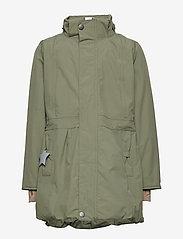 Mini A Ture - Viola Faux Fur Jacket, K - parkas - beetle - 3