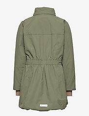 Mini A Ture - Viola Faux Fur Jacket, K - parkas - beetle - 6