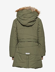 Mini A Ture - Witta Faux Fur Jacket, K - parkas - beetle - 4
