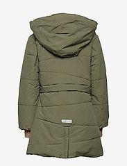 Mini A Ture - Witta Faux Fur Jacket, K - parkas - beetle - 5