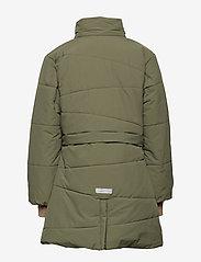 Mini A Ture - Witta Faux Fur Jacket, K - parkas - beetle - 6