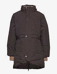 Mini A Ture - Witta Faux Fur Jacket, K - parkas - licorise - 2