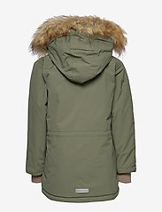 Mini A Ture - Walder Faux Fur Jacket, K - parkas - beetle - 4