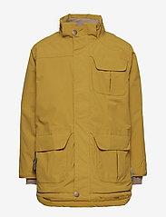 Mini A Ture - Walder Faux Fur Jacket, K - parkas - dried tobacco - 3