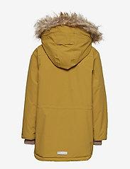 Mini A Ture - Walder Faux Fur Jacket, K - parkas - dried tobacco - 4