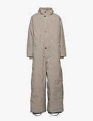 Mini A Ture - Wanni Faux Fur Snowsuit, K - vinterdress - cloudburst grey - 3