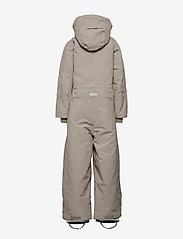 Mini A Ture - Wanni Faux Fur Snowsuit, K - vintertøj - cloudburst grey - 5