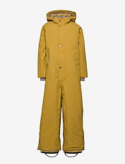 Mini A Ture - Wanni Faux Fur Snowsuit, K - vinterdress - dried tobacco - 2