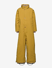 Mini A Ture - Wanni Faux Fur Snowsuit, K - vinterdress - dried tobacco - 3