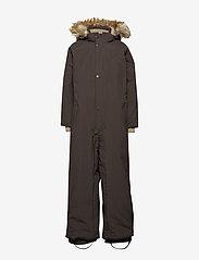 Mini A Ture - Wanni Faux Fur Snowsuit, K - vinterdress - licorise - 1