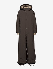 Mini A Ture - Wanni Faux Fur Snowsuit, K - vintertøj - licorise - 2