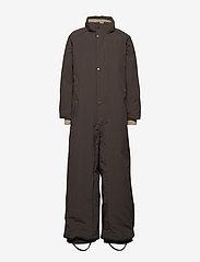 Mini A Ture - Wanni Faux Fur Snowsuit, K - vinterdress - licorise - 3