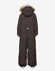 Mini A Ture - Wanni Faux Fur Snowsuit, K - vintertøj - licorise - 4