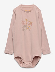 Mini A Ture - Yomia Body, B - langärmelig - cloudy rose - 0