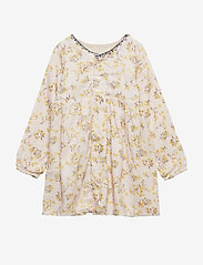 Mini A Ture - Atalie Dress, B - kleider - silver peony - 1