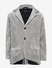 Mini A Ture - Lioyd Jacket, K - colberts - light grey melange - 0