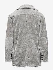 Mini A Ture - Lioyd Jacket, K - colberts - light grey melange - 1