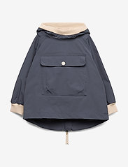 Mini A Ture - Baby Vito Anorak Fleece, M - shell jassen - ombre blue - 0