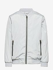 Mini A Ture - Július Jacket, K - bomber jackets - moon grey - 0