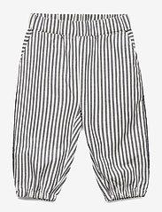 Mini A Ture - Berned Pants, M - broeken - ombre blue - 0