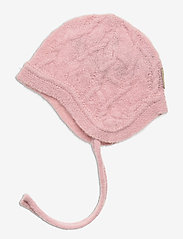 Mini A Ture - Filie Hood, BM - hatte og handsker - pale mauve - 1