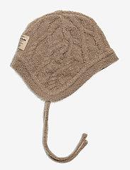 Mini A Ture - Filie Hood, BM - hoed - taupe grey - 0