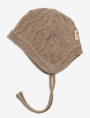 Mini A Ture - Filie Hood, BM - hoed - taupe grey - 1