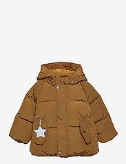 Mini A Ture - Woody Jacket, M - dunjakker & forede jakker - rubber brown - 0