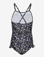 Mini A Ture - Gritt Swimsuit, K - swimsuits - deep well blue - 1